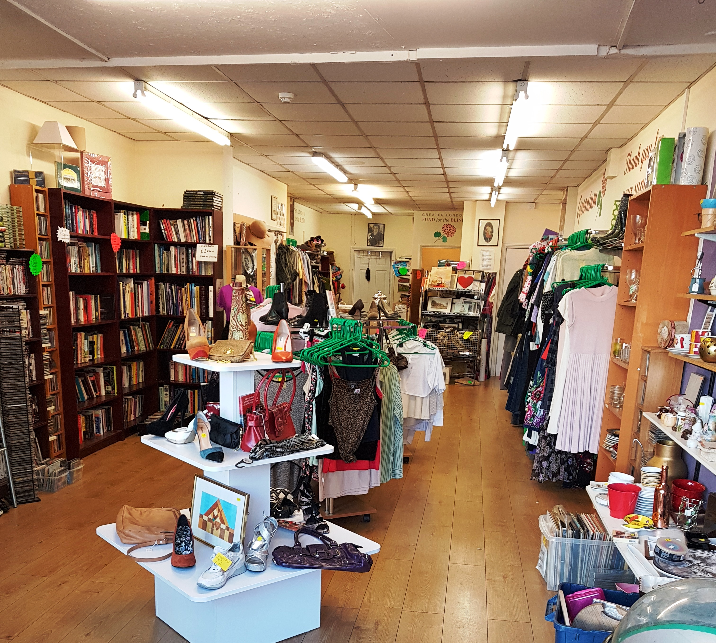 GLFB charity shop Walworth Road