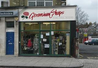 Geranium Shop in Lee Green