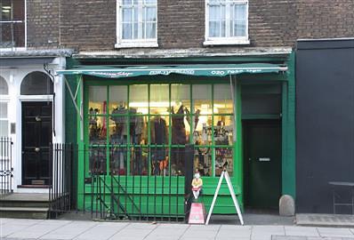 Geranium shop in Marylebone