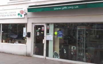 GLFB charity shop Hampton Hill