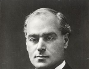 Photograph of Sir Arthur Pearson, founder of the GLFB