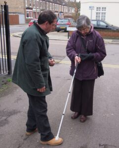GLFB-funded mobility training