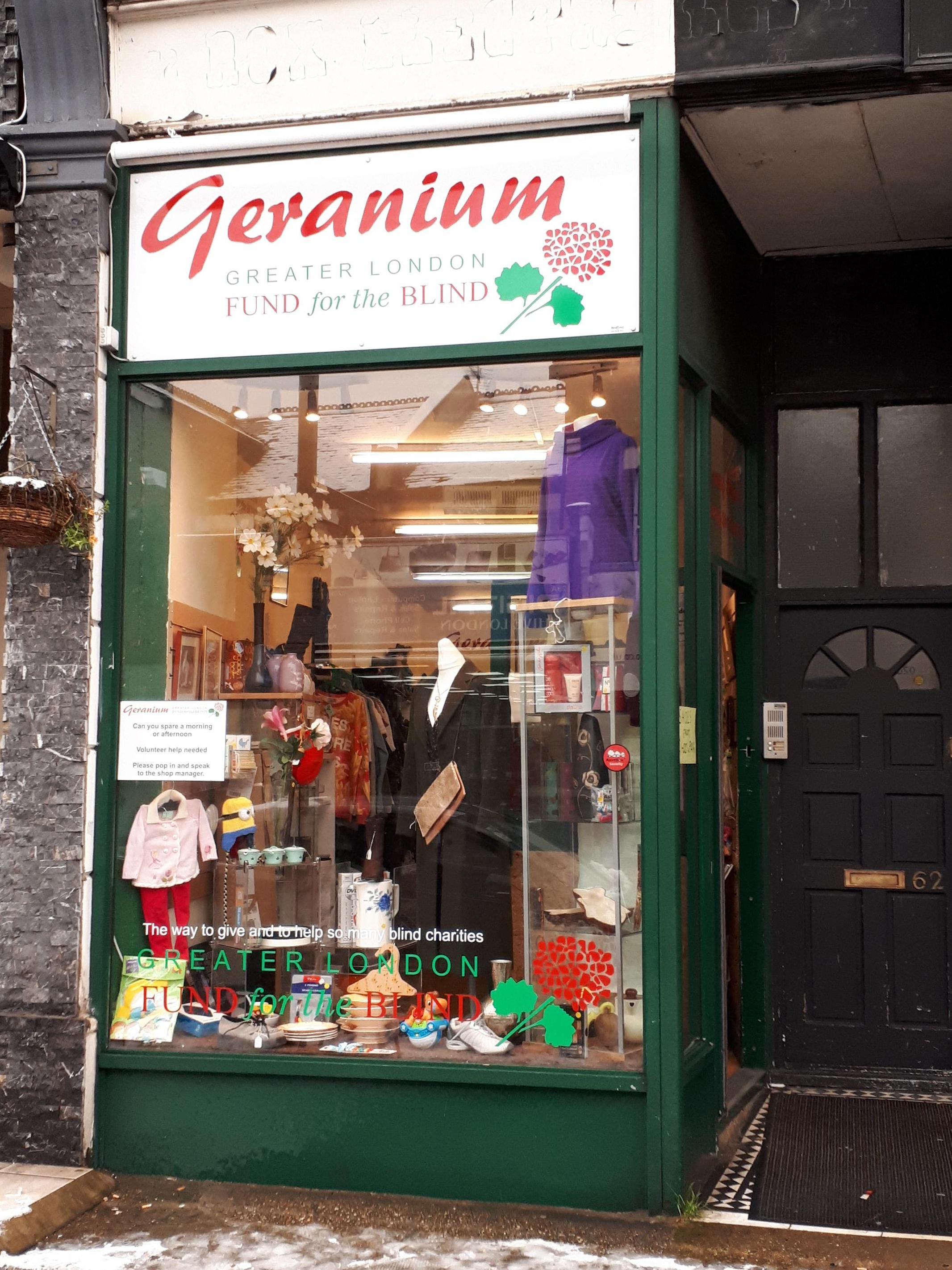exterior of willseden green shop