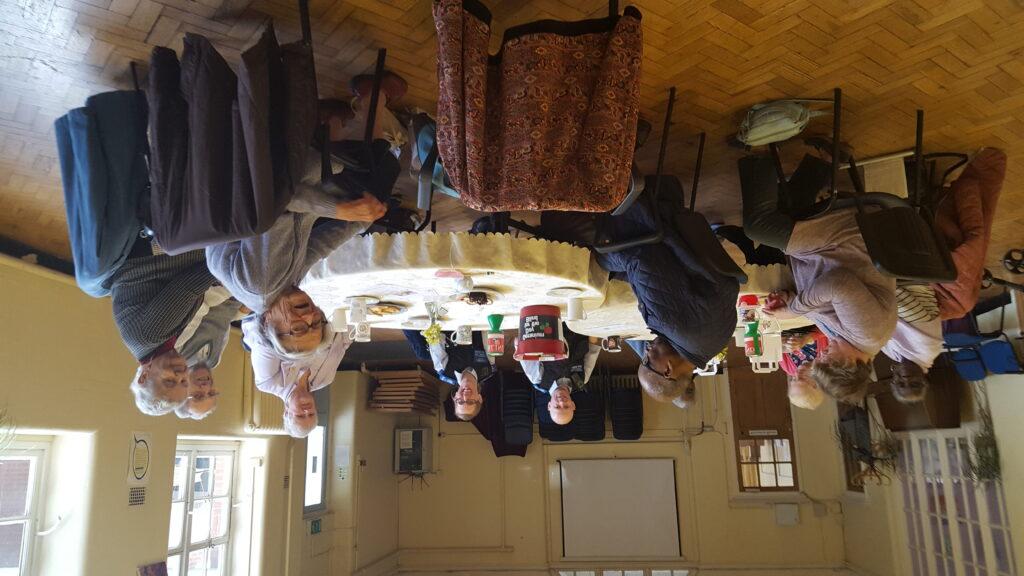 Geranium Day Tea Party at Merton Vision