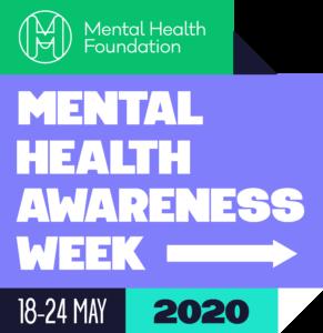 mental health awarnes week logo lockup