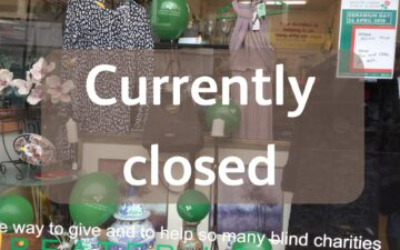 south norwod shop window - caption currently closed
