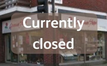 Tulse Hill shop - currently closed