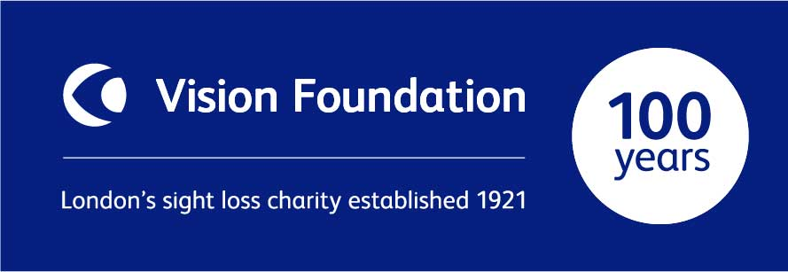Vision Foundation centenary logo