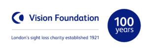 Vision Foundation Centenary logo