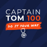 Text 'Captain Tom 100. Do it your way'