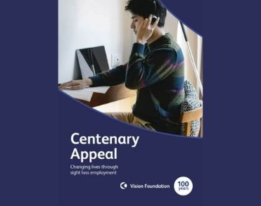 A snapshot of the front cover of the Centenary Appeal Brochure